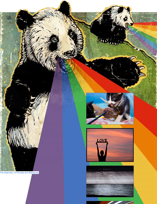 The Searcher Of Pandas and Rainbows